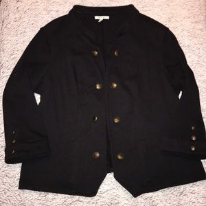 Maurices | Black Peacoat Sweater 💕